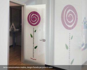 design porta in vetro