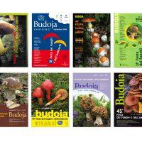 serie di manifesti «Festa dei funghi e dell'ambiente»